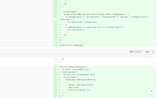 github code review extension