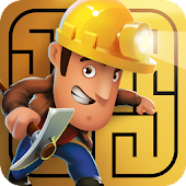 Diggy's Adventure: Escape this 2D Mine Maze Puzzle icon