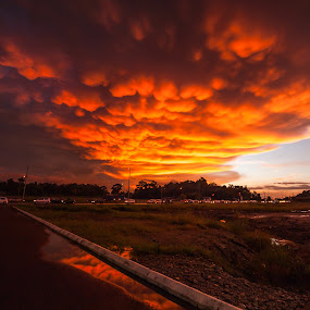 Majestic Clouds by Ismail Rali - Landscapes Cloud Formations ( clouds, majestic, sunset, cloudscape, sunrise, landscapes )