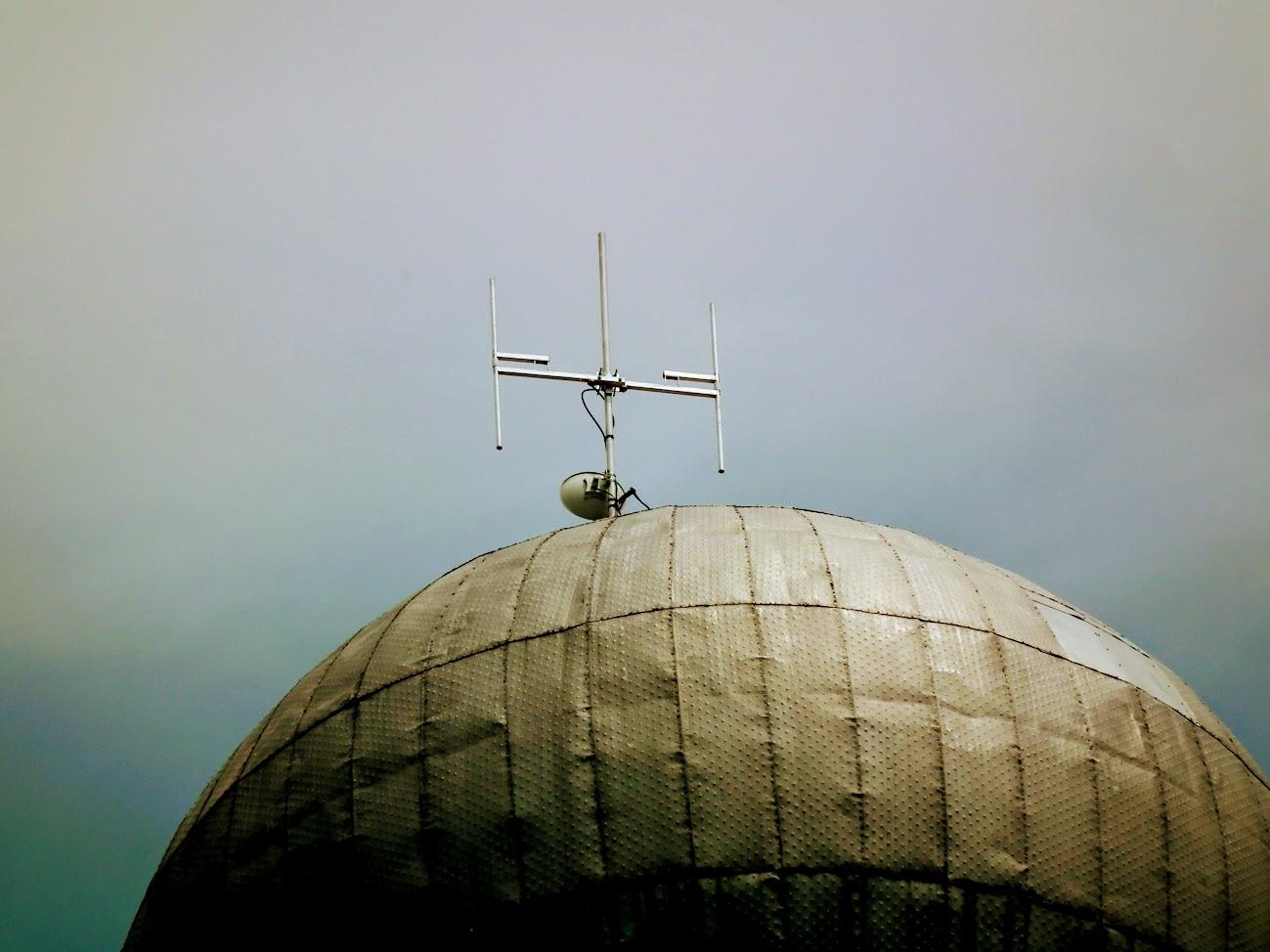 Celldömölk/víztorony - helyi URH-FM adóállomás