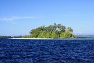 Photo: This is Kennedy Island as we were coming in