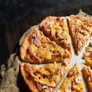 Apple and Ham Flatbread - náhled