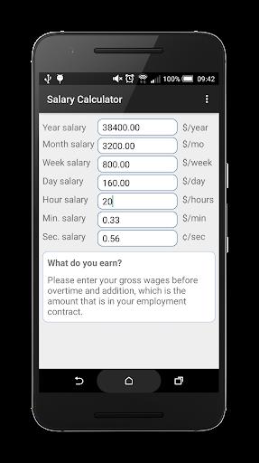 Simple Salary Calculator
