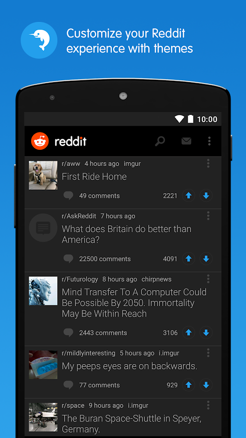 Reddit: The Official App- screenshot