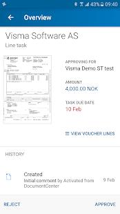 Visma Manager - náhled