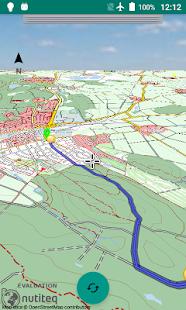 Alminav3D: Bicycle Navigation - náhled