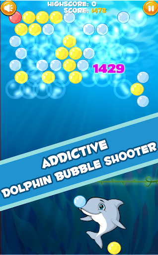 Dolphin Bubble Shooter HD