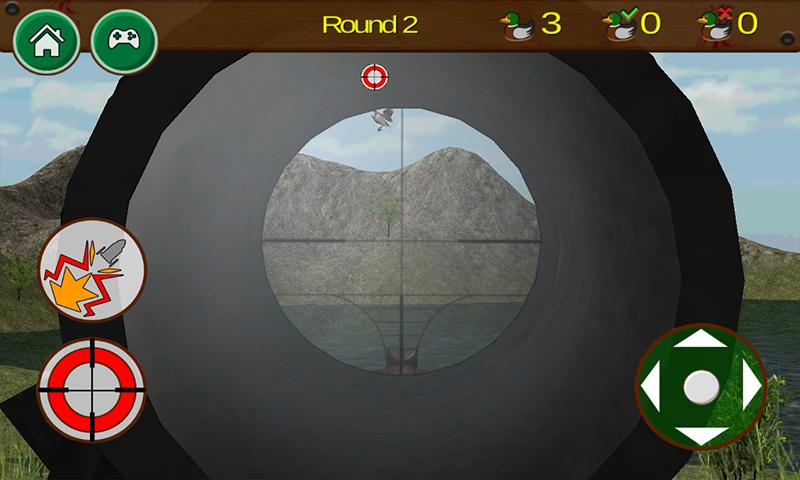 android Zombie Duck Hunting 3D Screenshot 2
