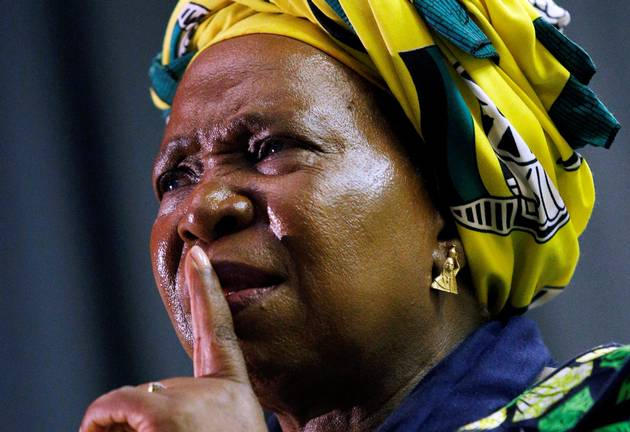 Nkosazana Dlamini-Zuma. File photo.