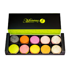 Boite Cadeau 10 Macarons マカロンギフト10個入り