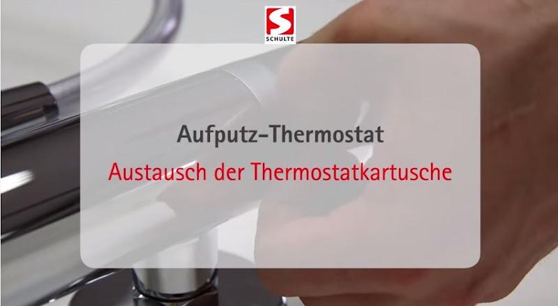 Video: Austausch einer Thermostatkartusche