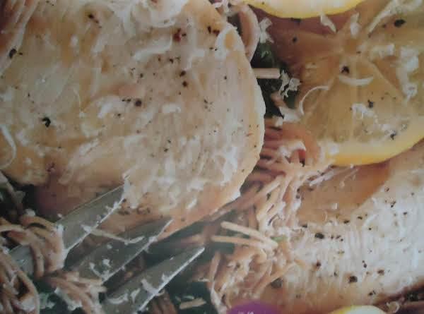 Norma's Zesty Lemon Chicken Scaloppine