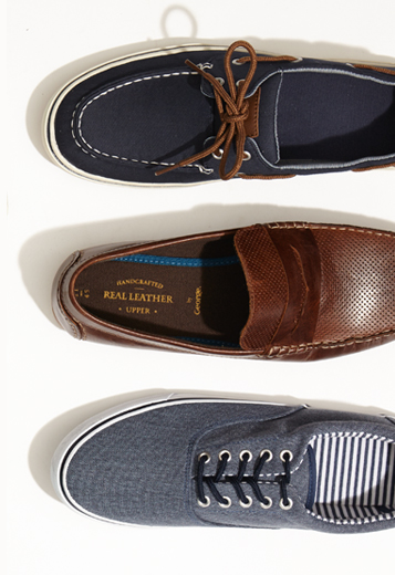 Find your perfect boat shoe at George.com