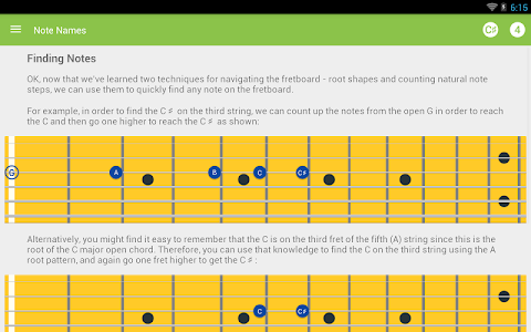 Guitar Notes Master screenshot 5