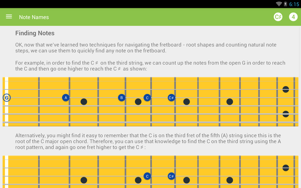 Guitar Notes Master- screenshot