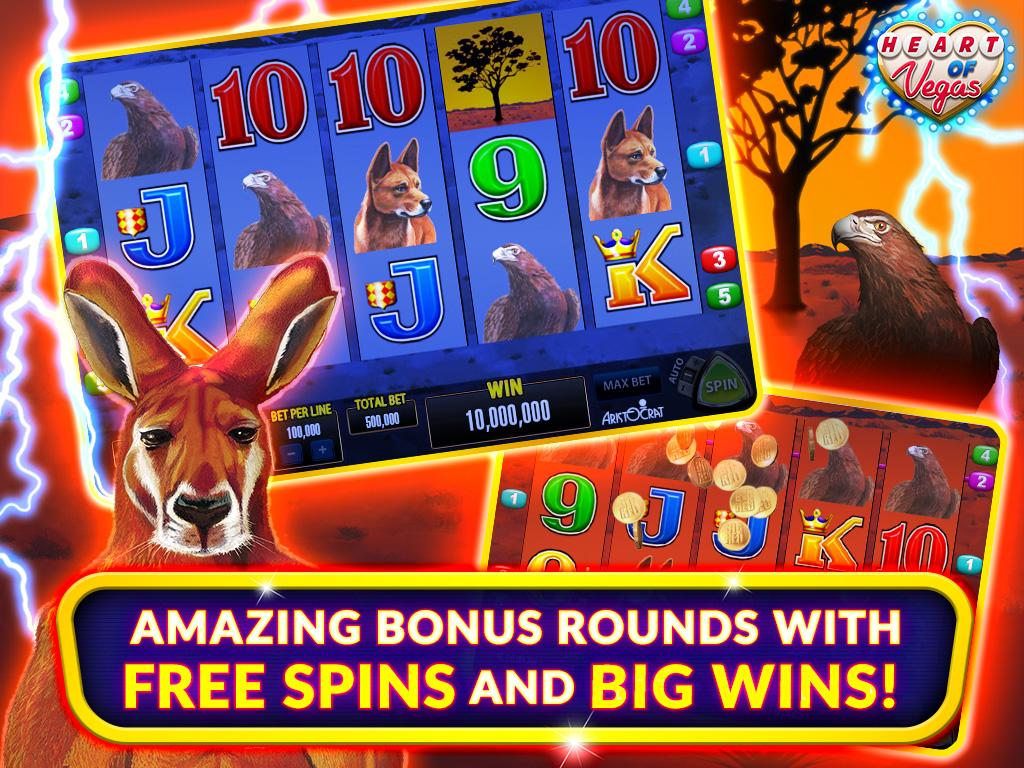 Heart Of Vegas Casino Slots Android Apps On Google Play