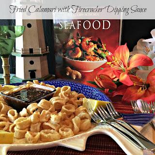 Fried Calamari with Firecracker Dipping Sauce