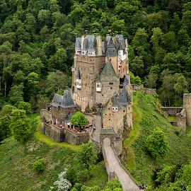 Castle Eltz by Thomas Seethaler - Buildings & Architecture Public & Historical ( castle eltz, midage, green, germany, castle, historic )