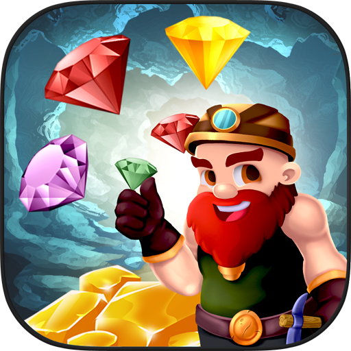 Ultimate Gold Rush: Match 3 Android APK Download Free By Go Vuzzle