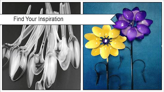 Creative Plastic Cutlery Decor Ideas - náhled