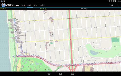 App WiGLE WiFi Wardriving APK for Windows Phone