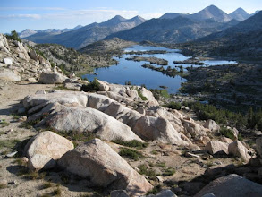 Photo: Looking back at Marie Lake from Selden Pass ((10890')