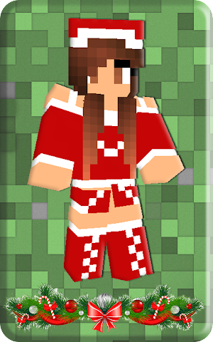 android Christmas skins for Minecraft Screenshot 0