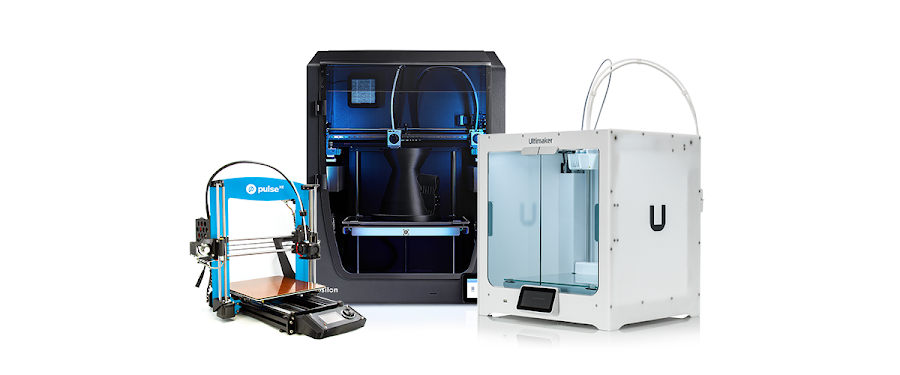 Here at MatterHackers, we carry a wide variety of 3D printers that are ready to print advanced materials right out of the box.