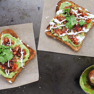 Mexican-Style Avocado Toast