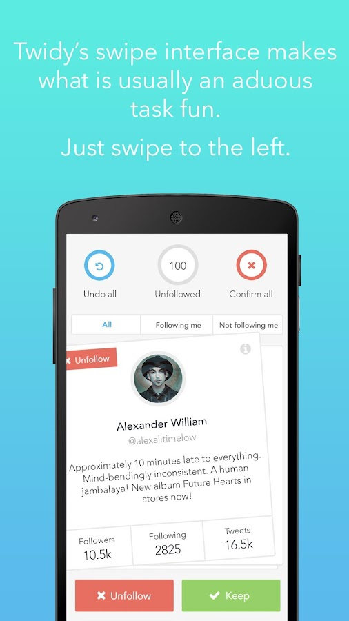 Twidy -Declutter Your Timeline- screenshot