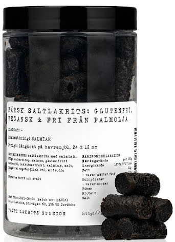 Glutenfri – färsk saltlakrits - Haupt Lakrits