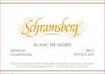 Schramsberg Blanc de Noirs