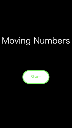 Moving Numbers - 動く数字をタップ