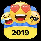 Teclado Emoji 2018 - Emoticonos Lindo icon