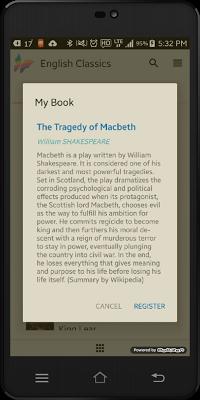 English Classics Edition - screenshot