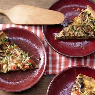 Hearty Tart with Mushrooms