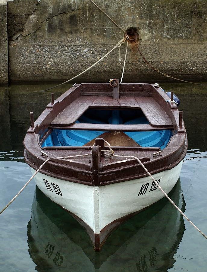 boat by Miljenko Plisic - Transportation Boats ( čamac rowboat čamac steam launch čamac, boat brod, čamac, brodić water craft čamac canoe kanu )