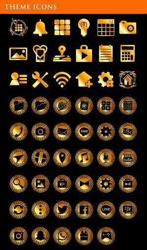 Gold Wallpaper Gothic Butterflies Theme 1.0.0 Windows u7528 4