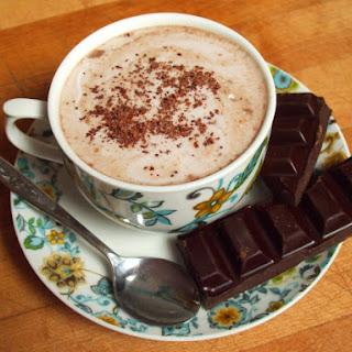 Velvety Almond Milk Hot Chocolate