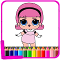 Coloring Book Full of Surprise and Dolls -LOL
