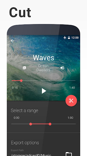 Timbre: Cut, Join, Convert Mp3 Audio & Mp4 Video 3.1.5 screenshots 1