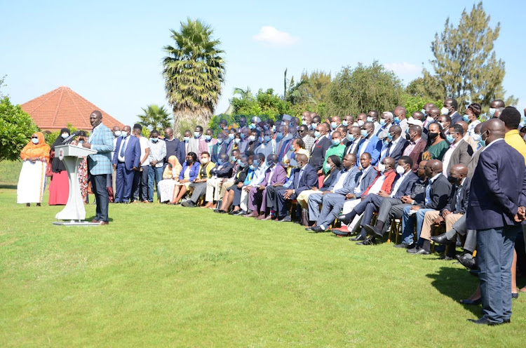Ruto's Mt Kenya allies locked out of Uhuru's Sagana meeting