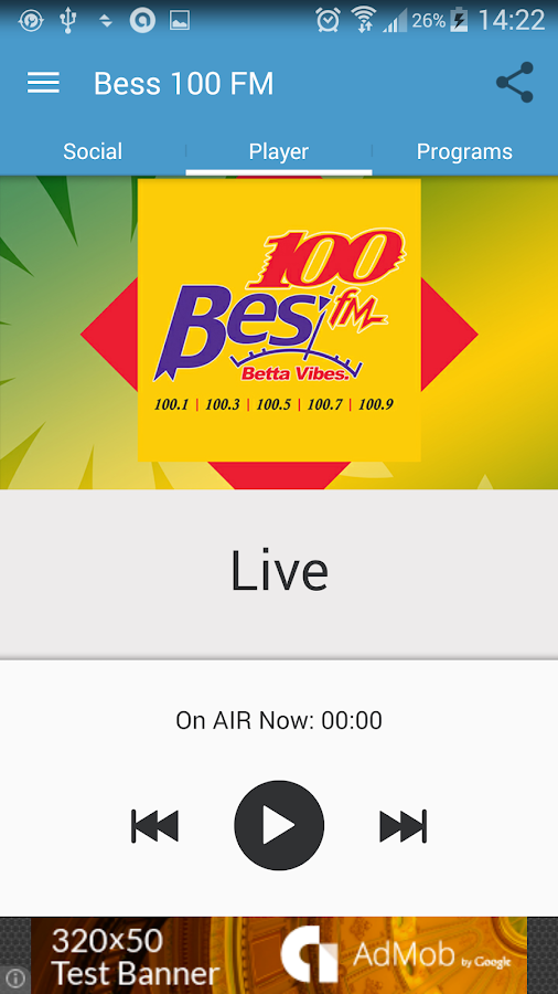 Bess 100 FM- screenshot