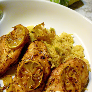 Lemon Pepper Butter Chicken Breasts.