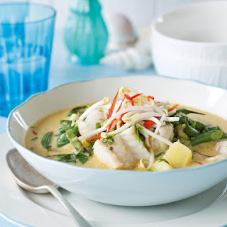 Coconut and Fish Curry.