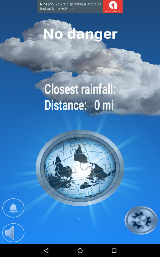 Weather Alarm- screenshot