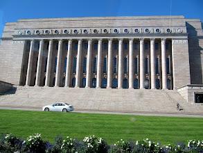 Photo: PARLIAMENT BUILDINGS  http://en.wikipedia.org/wiki/Parliament_House,_Helsinki