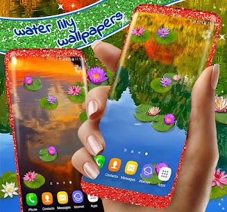 Water Lily Live Wallpaper 🌺 Flowers Wallpapers 2