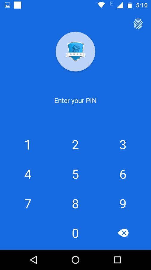 App lock - Real Fingerprint- screenshot
