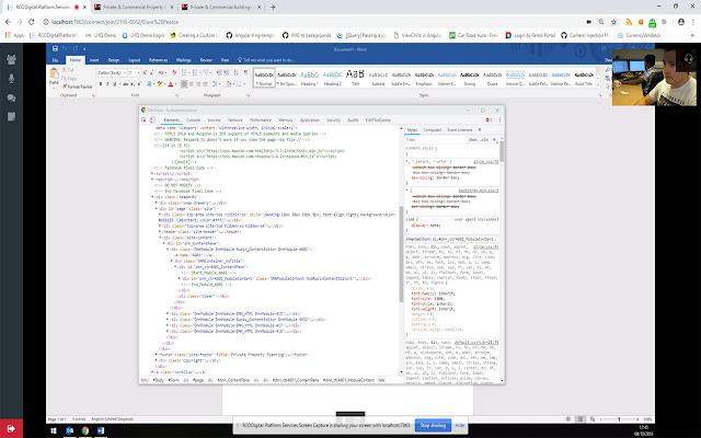 RCODigital Platform Services Screen Capture